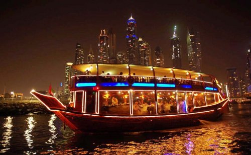 Creek Dhow Cruise Dubai